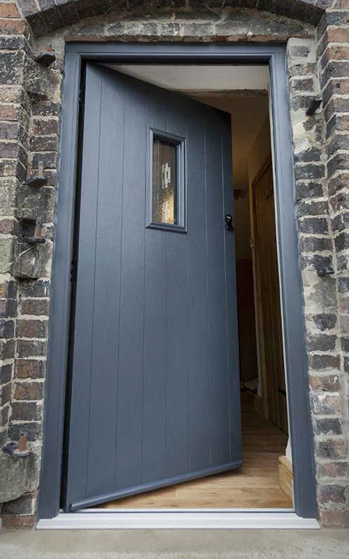 Grey R9 Solidor composite door