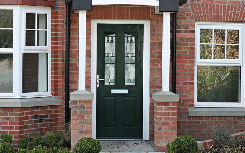Solidor black composite door