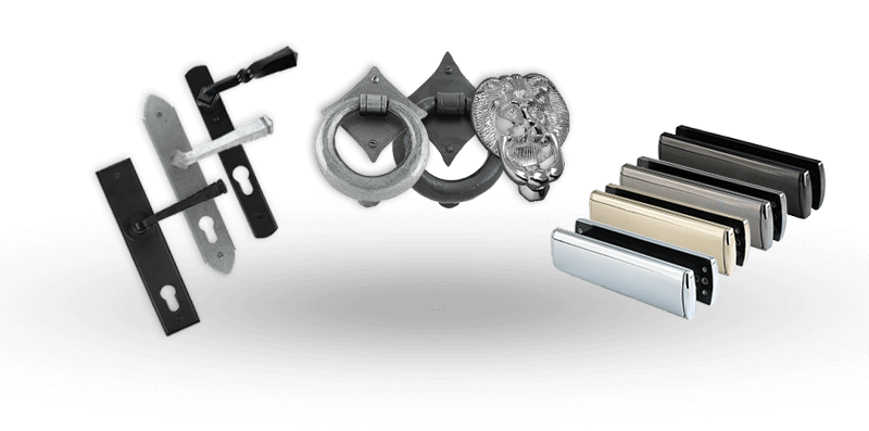 Selection of Solidor hardware