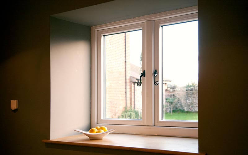 White Residence 9 window