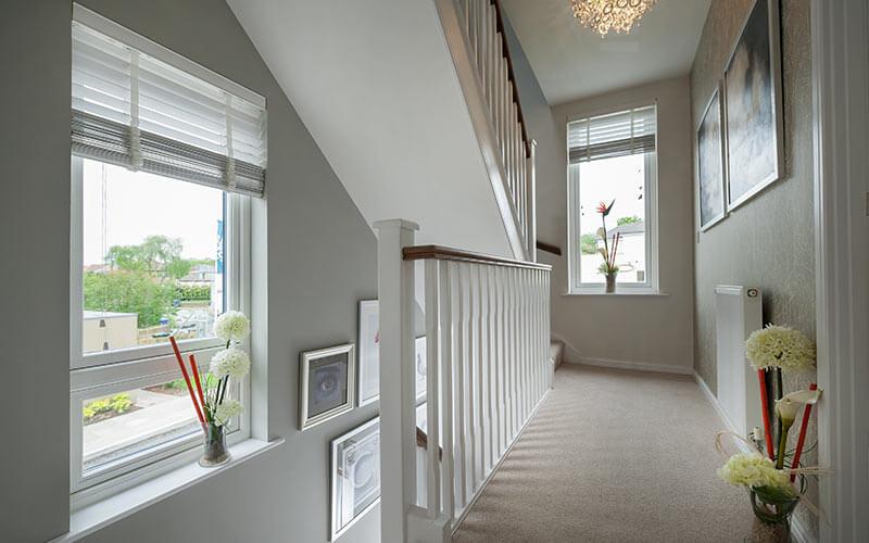White Residence 9 windows interior