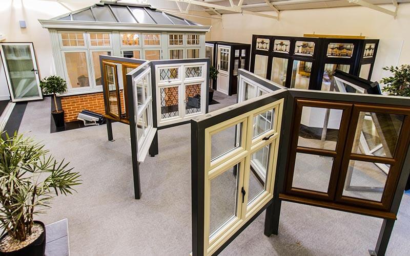 Window Tech Trade showroom